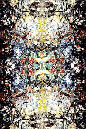 Kaléidoscope mosaïque